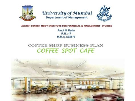 coffee shop design proposal business plan coffee shop