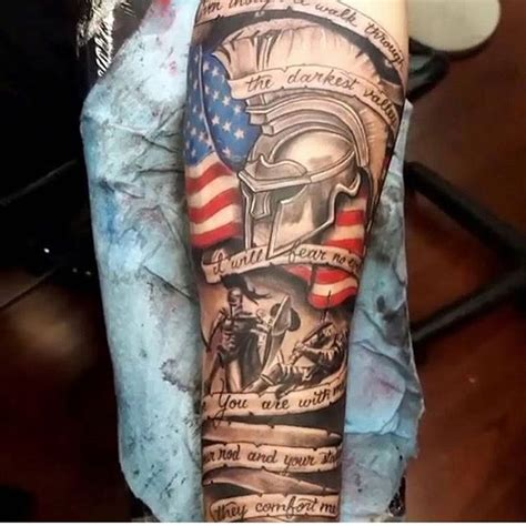 35 patriotic tattoos on sleeve