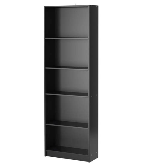 silver pine simple bookcase black laminate buy silver