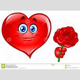Heart With Rose Royalty Free Stock Photography - Image: 18002827