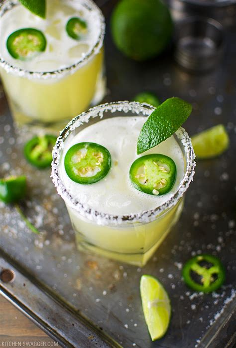 jalapeno margaritas spicy jalape 241 o recipe kitchen swagger