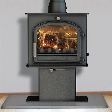 Clean Burning Fireplaces by Defra Approved Stove Cleanburn Norreskoven Pedestal
