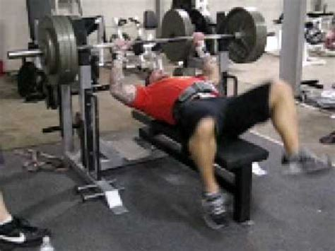 jim wendler bench press jim wendler bench press 370x7 youtube