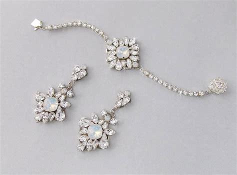 wedding jewelry set wedding bracelet set bridal bracelet
