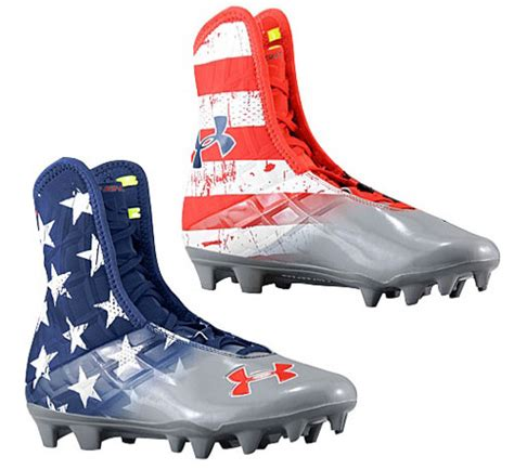 warrior football shoes armour highlight mc wounded warrior cleats