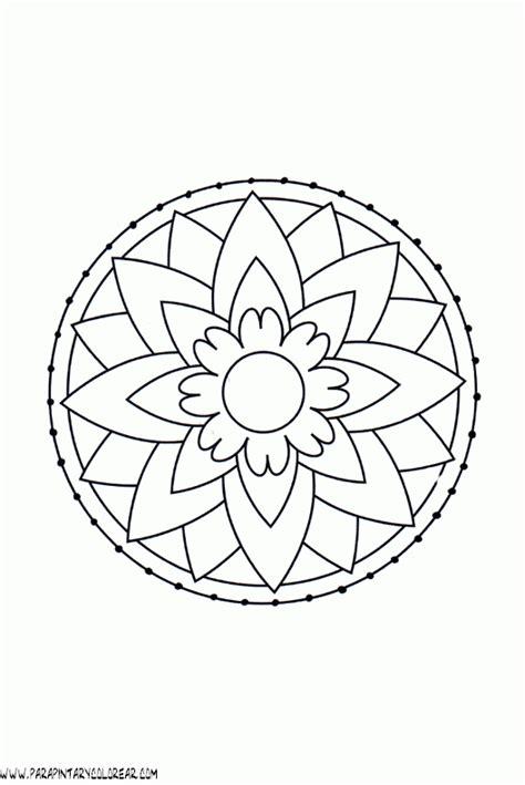 Imagenes De Mandalas Simples Para Colorear | mandalas para pintar mandalas para colorear dibujos