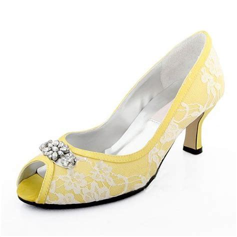Yellow Bridal Shoes by 17 Best Images About Wedding Shoes On Yellow