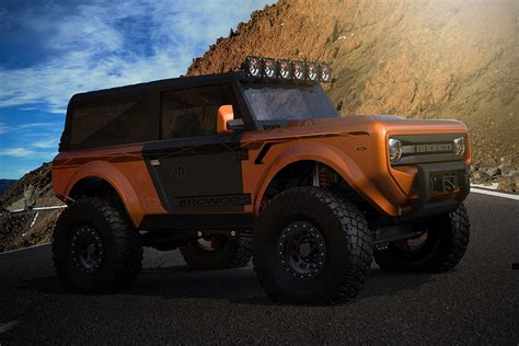 2020 Ford Bronco Official Pictures by 2020 Ford Bronco Revealed Ahead Of Official Announcedment
