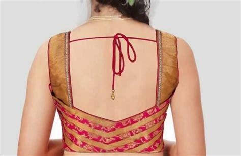 Simple Bordir Blouse 30 simple blouse back neck designs 2018 2019