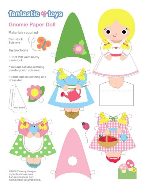 printable paper gnomes 1038 best images about paperdolls 96 on pinterest review