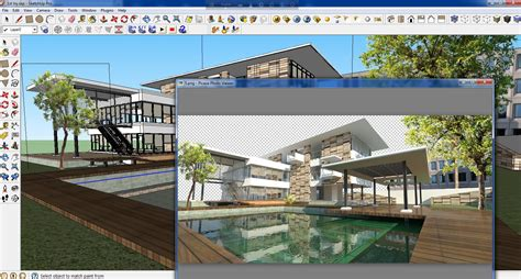 tutorial render noturno vray sketchup tutorial vray water render in sketchup