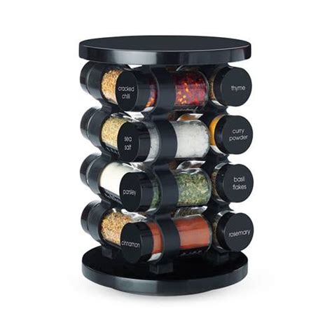 Maxwell Williams Spice Rack maxwell williams spice it up carousel black