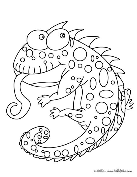 chameleon lizard coloring pages funny chameleon coloring pages hellokids com