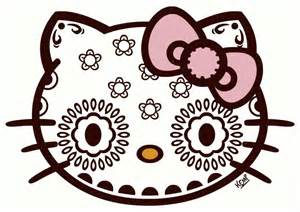 hello kitty day of the dead birthday inspiration on