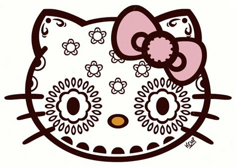 imagenes de hello kitty mexicana hello kitty day of the dead birthday inspiration on