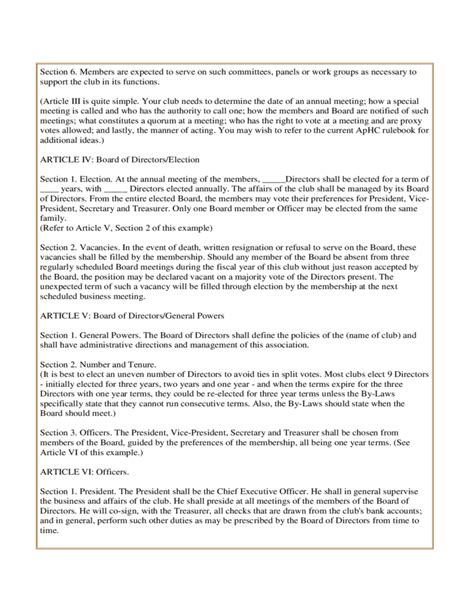 sle articles of incorporation and by laws free download