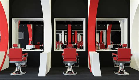 barber station sonic waves barber shop on behance