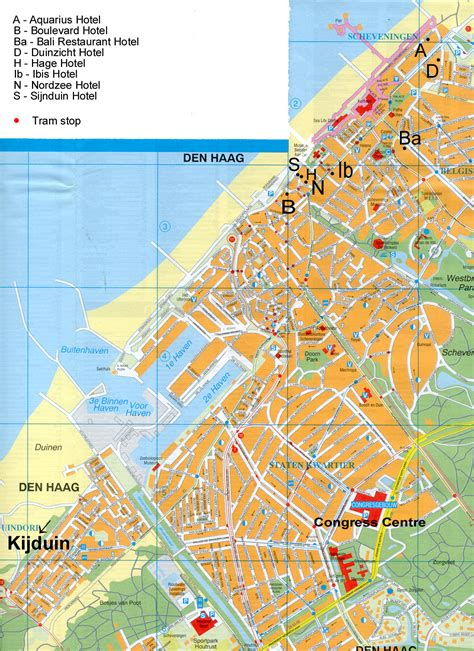 netherlands the hague map the hague hotel map the hague netherlands mappery
