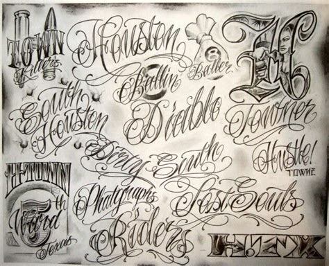 gangster lettering tattoo designs 606 best images about gangsta portraits on