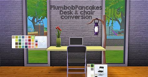 hanging bed frame my sims 4 desk and hanging bed frame conversion by