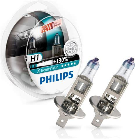 Lu Philips Xtreme Vision Plus H1 12v 55w Lu Halogen Original philips h1 x treme vision 130 12v 55w ad tuning