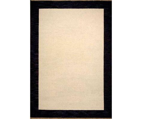black rug with white border henley border cardinal black 5 x 8 border rug