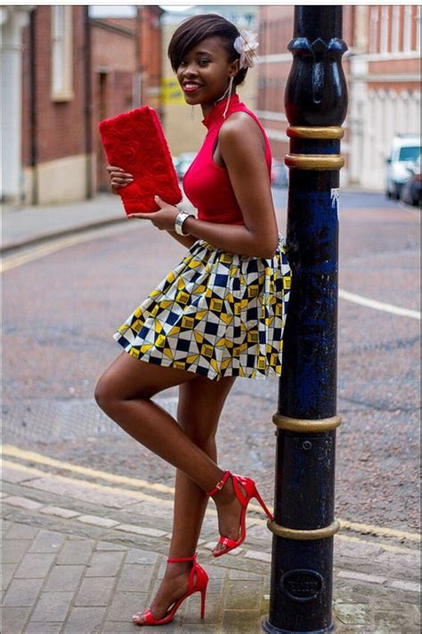 pictures of skirt sown with ankara material african skirt by laviye african fashion ankara kitenge