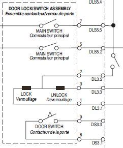 washing machine door lock wiring diagram washing machine