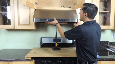 how to install cabinet ductless range ductless range cabinet bruin