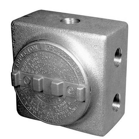Appeton Box appleton grss100 universal condulets crescent electric supply company