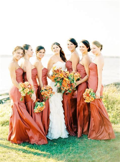 25  best ideas about Autumn Bridesmaid Dresses on