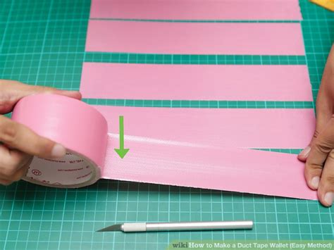 duct tape wallet easy method  pictures