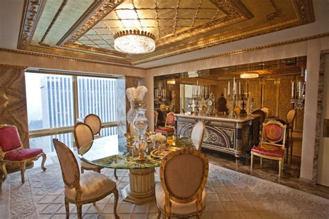 donald trump gold penthouse inside donald and melania trump s manhattan apartment