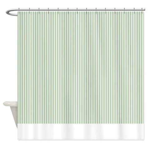 green stripe curtains green stripe shower curtain 2 by marlodeedesignsshowercurtains