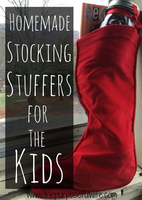 stocking stuffers for wife the purposeful wife 5 homemade stocking stuffers for the kids