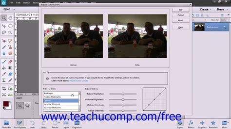 tutorial photoshop elements 14 photoshop elements 12 tutorial color curves adobe training