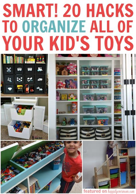 a simple way to organize toys our house now a home so smart 20 hacks to organize all of your kid s toys