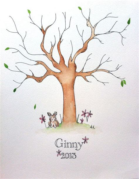 Baby Shower Fingerprint Tree by 25 Best Ideas About Naming Ceremony On