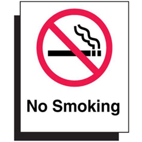no smoking signs canada polished plastic no smoking graphic sign from seton ca