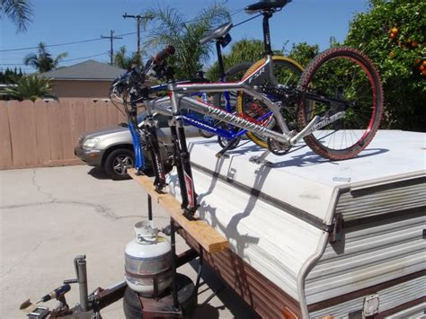 Tent Trailer Bike Rack by 32 Best Images About Pop Up On Bikes Tent And