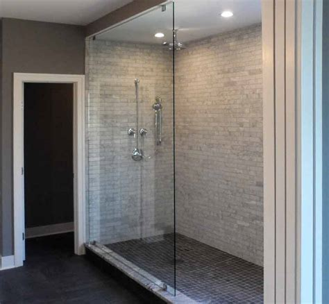 floor to ceiling glass panels glass shower gallery precision glass shower