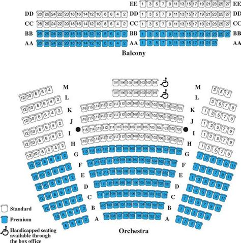 landmark theatre seating chart syracuse ny charts seating charts and theatres on