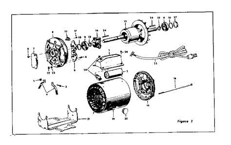 electric motor parts diagram craftsman craftsman 1 h p capacitor start type electric
