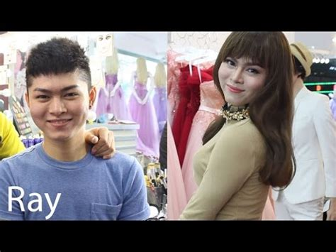 Salon Makeover Turns Man Into Woman | full tutorial make up tutorial boy into girl dressed up
