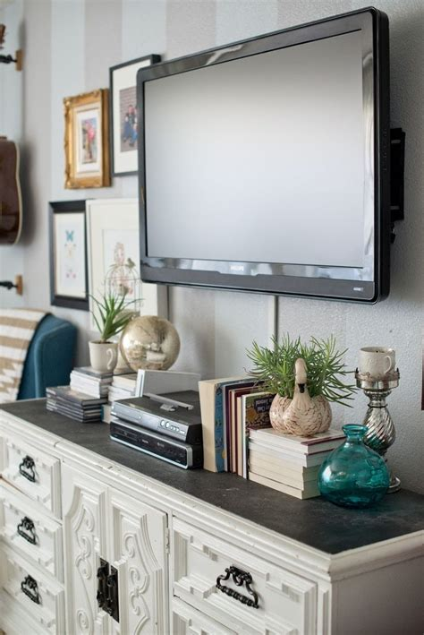 table tv on wall best 25 decorating around tv ideas on tv wall