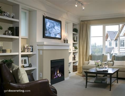 Karpet Tv fireplace and tv on same wall living rooms