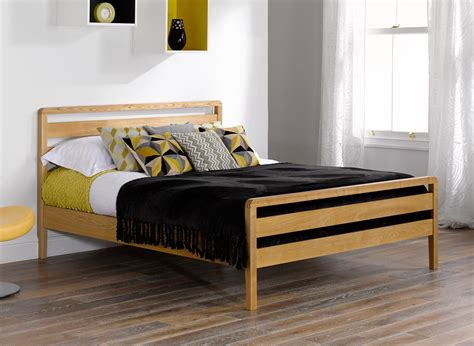Wooden Bed Frames Uk Earlswood Solid Ash Wooden Bed Frame Dreams