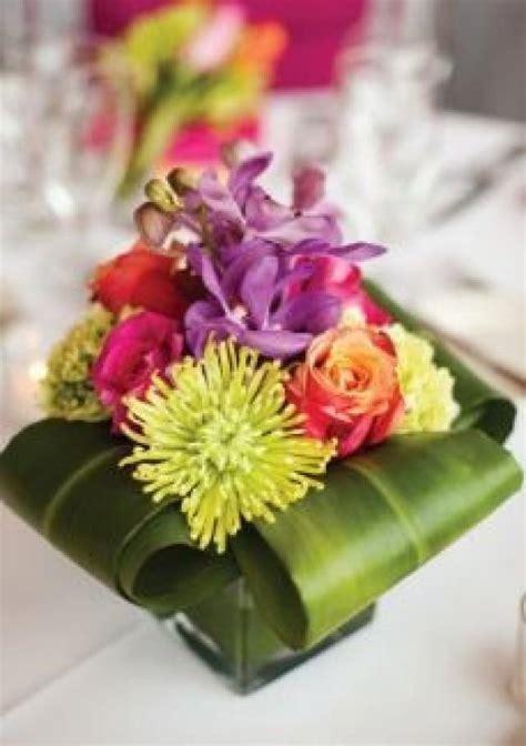 tropical flower arrangements centerpieces wedding centerpieces and reception decor 2047394 weddbook