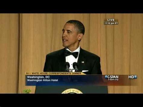 Span White House Correspondents Dinner by Span President Obama At The 2011 White House