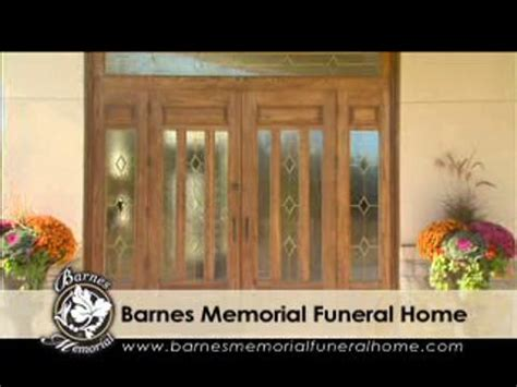 barnes memorial funeral home ltd opening hours 5295